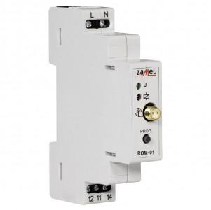 Zamel Exta Free ROM-01 - Bezprzewodowy odbiornik modułowy 1-kanałowy (8A/2000W, 230V AC) - Podgląd zdjęcia nr 7