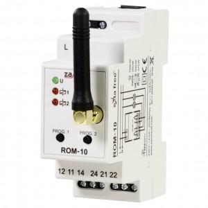 Zamel Exta Free ROM-10 - Bezprzewodowy odbiornik modułowy 2-kanałowy (8A/2000W, 230V AC) - Podgląd zdjęcia nr 1