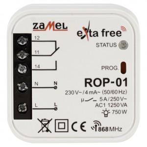 Zamel Exta Free ROP-01 - Bezprzewodowy odbiornik dopuszkowy 1-kanałowy (5A/1250W, 230V AC) - Podgląd zdjęcia nr 2