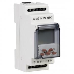 Zamel Exta RTM-20 - Regulator temperatury z zakresu od +5*C do +60*C, Bez sondy pomiarowej, Modułowy, Montaż na szynie TH - Podgląd zdjęcia nr 3