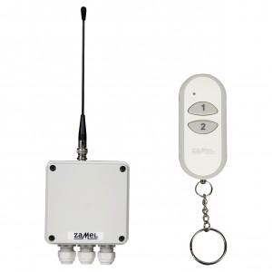 Zamel Stiro RWS-211D/N - Radiowy wyłącznik sieciowy 2-kanałowy z komplecie z pilotem - Podgląd zdjęcia nr 2