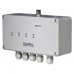 Zamel Exta Free RWS-311C - Bezprzewodowy, radiowy wyłącznik sieciowy 4-kanałowy (16A/4000W, 230V AC) - Podgląd zdjęcia nr 1