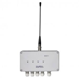 Zamel Exta Free RWS-311C - Bezprzewodowy, radiowy wyłącznik sieciowy 4-kanałowy (16A/4000W, 230V AC) - Podgląd zdjęcia nr 4