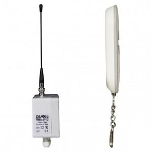 Zamel Exta Free RWS-311C/Z - Bezprzewodowy, radiowy wyłącznik sieciowy 4-kanałowy w komplecie z pilotem (16A/4000W, 230V AC) - Podgląd zdjęcia nr 8