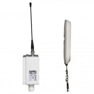 Zamel Exta Free RWS-311D/Z - Bezprzewodowy, radiowy wyłącznik sieciowy 2-kanałowy w komplecie z pilotem (16A/4000W, 230V AC) - Podgląd zdjęcia nr 8