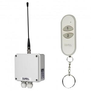 Zamel Exta Free RWS-311J/Z - Bezprzewodowy, radiowy wyłącznik sieciowy 1-kanałowy w komplecie z pilotem (16A/4000W, 230V AC) - Podgląd zdjęcia nr 2