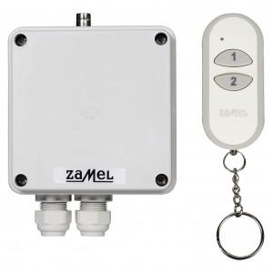Zamel Exta Free RWS-311J/Z - Bezprzewodowy, radiowy wyłącznik sieciowy 1-kanałowy w komplecie z pilotem (16A/4000W, 230V AC) - Podgląd zdjęcia nr 3