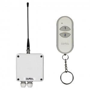 Zamel Exta Free RWS-311J/Z - Bezprzewodowy, radiowy wyłącznik sieciowy 1-kanałowy w komplecie z pilotem (16A/4000W, 230V AC) - Podgląd zdjęcia nr 4