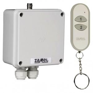 Zamel Exta Free RWS-311J/Z - Bezprzewodowy, radiowy wyłącznik sieciowy 1-kanałowy w komplecie z pilotem (16A/4000W, 230V AC) - Podgląd zdjęcia nr 5