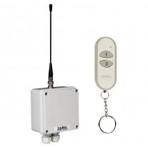 Zamel Exta Free RWS-311J/Z - Bezprzewodowy, radiowy wyłącznik sieciowy 1-kanałowy w komplecie z pilotem (16A/4000W, 230V AC) - Podgląd zdjęcia nr 6