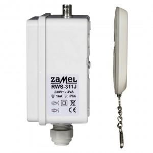 Zamel Exta Free RWS-311J/Z - Bezprzewodowy, radiowy wyłącznik sieciowy 1-kanałowy w komplecie z pilotem (16A/4000W, 230V AC) - Podgląd zdjęcia nr 7