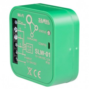 Zamel Supla SLW-01 - STEROWNIK LED RGB WI-FI TYP: SLW-01 - Podgląd zdjęcia nr 1