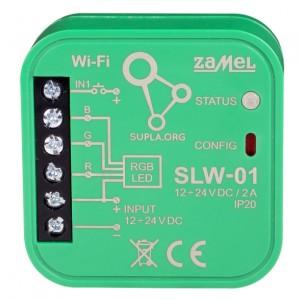 Zamel Supla SLW-01 - STEROWNIK LED RGB WI-FI TYP: SLW-01 - Podgląd zdjęcia nr 2