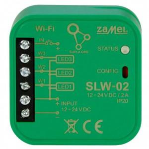 Zamel Supla SLW-02 - STEROWNIK 3xLED WI-FI TYP: SLW-02 - Podgląd zdjęcia nr 3