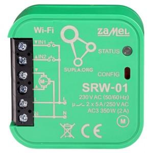 Zamel Supla SRW-01 - STEROWNIK ROLET WI-FI TYP: SRW-01 - Podgląd zdjęcia nr 2