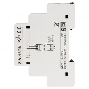 Zamel Exta ZIM-12/08 - Zasilacz impulsowy 12V DC/0,8A/9,6W - Podgląd zdjęcia nr 4