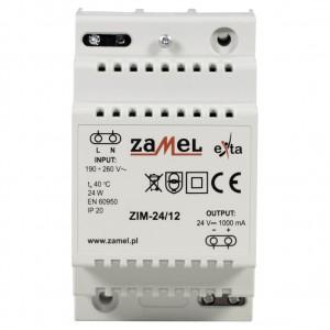 Zamel Exta ZIM-24/12 - Zasilacz impulsowy 24V DC/1,2A/28,8W - Podgląd zdjęcia nr 2
