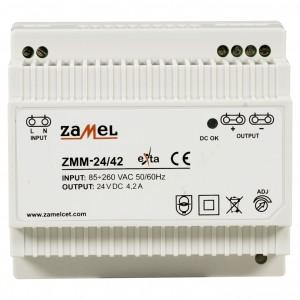 Zamel Exta ZMM-24/42 - Zasilacz impulsowy 24V DC/4,2A/100W - Podgląd zdjęcia nr 2