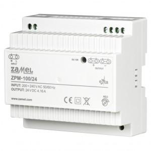 Zamel Exta ZPM-100/24 - Zasilacz impulsowy 24V DC/4,16A/100W - Podgląd zdjęcia nr 1