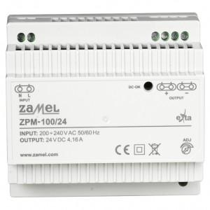 Zamel Exta ZPM-100/24 - Zasilacz impulsowy 24V DC/4,16A/100W - Podgląd zdjęcia nr 2