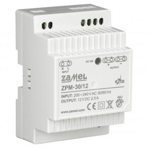 Zamel Exta ZPM-30/12 - Zasilacz impulsowy 12V DC/2,5A/30W - Podgląd zdjęcia nr 3